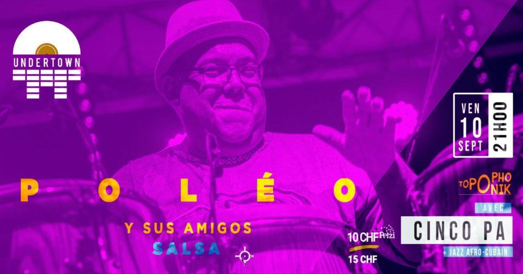 Geneva Latina Radio Poléo y sus Amigos & Cinco Pa