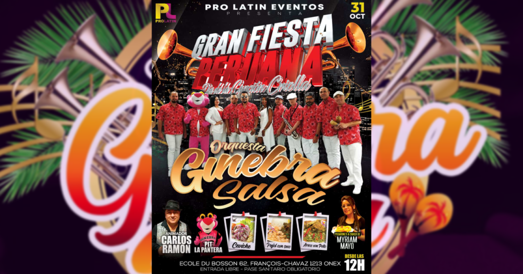 Gran fiesta peruana Geneva Latina Radio
